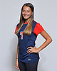Ally Diez of South Side poses for a portrait during the Newsday 2015 varsity girls' soccer season preview photo shoot at company headquarters on Thursday, September 10, 2015.<br /> <br /> James Escher
