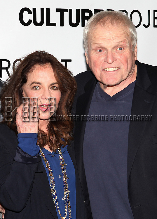 Stockard Channing & Brian Dennehy attending the after Party for 10th Anniversary Production of 'The Exonerated' at the Culture Project in New York City on 9/19/2012.