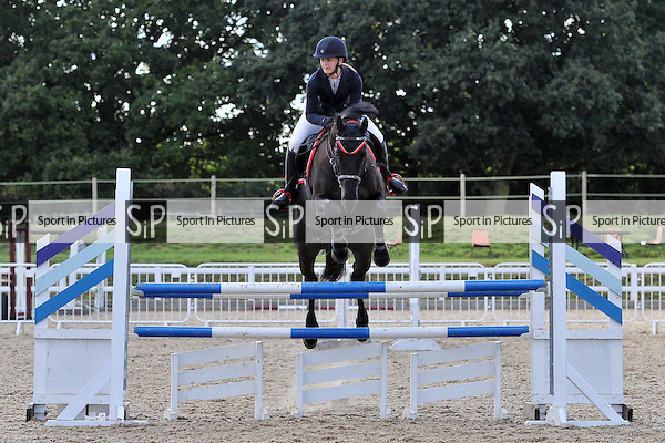 Class 5. British Showjumping (BS) Seniors. Brook Farm Training Centre. Essex. 01/10/2016. MANDATORY Credit Ellen Szalai/Sportinpictures - NO UNAUTHORISED USE - 07837 394578