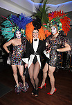Drag Queen Party Guests attending the Liza Minnelli 67th Birthday Celebration at the Copa in New York City on 3/13/2013..