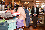 March 26, 2013. Lexington, South Carolina. Sen. Lindsey Graham took a tour of town with mayor Randy Halfacre, and spoke with Teresa Addy, center, the mother of Jeremy Addy, the owner of Craig Reagin Clothiers.. Sen. Lindsey Graham, R- South Carolina, is up for reelection in 2014. He spent some time talking to his base back home about issues such as immigration reform as he readies himself for his campaign run..