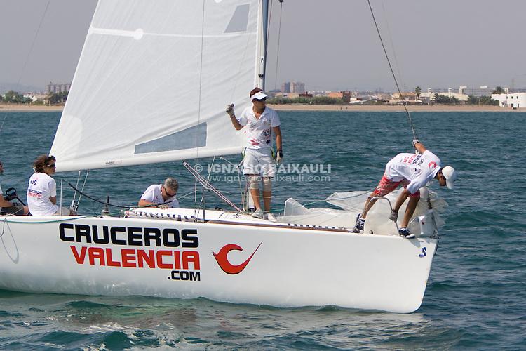Cruceros de Valencia de José Luis Brell .I TROFEO COMODORO ISIDORO SÁNCHEZ, 14/9/2009 Real Club Náutico de Valencia