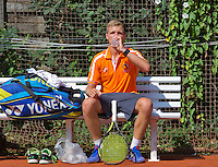 Austria, Kitzbühel, Juli 18, 2015, Tennis,  Junior Davis Cup, Bart Stevens (NED)<br /> Photo: Tennisimages/Henk Koster