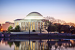 Sunrise at the Jefferson Memorial, Washington, DC, USA