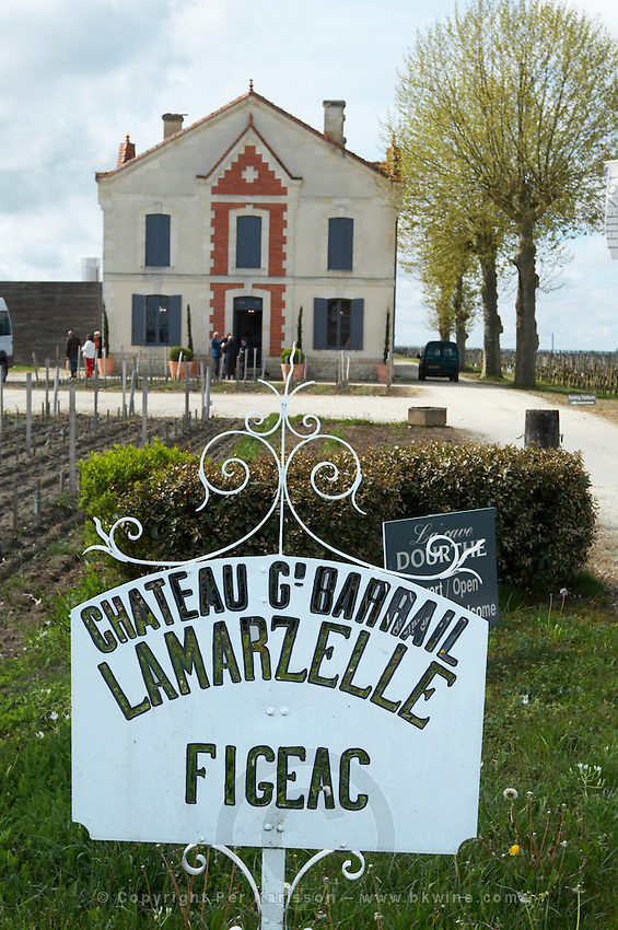 sign winery ch gd barrail lamarzelle figeac saint emilion bordeaux france