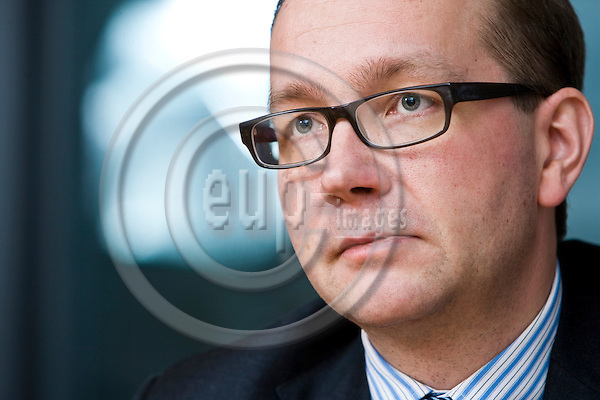 BRUSSELS - BELGIUM - 28 November 2013 -- Juho ROMAKKANIEMI, Member of the cabinet of the EU-Commissioner in charge of Economic and Monetary Affairs. -- Photo: Juha ROININEN / EUP-IMAGES