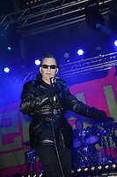 BLACKPOOL, ENGLAND - AUGUST 6: Dave Vanian(David Lett) of 'The Damned' performing at Rebellion Festival, Tower St Arena on August 6, 2016 in Blackpool, England.<br /> CAP/MAR<br /> &copy;MAR/Capital Pictures /MediaPunch ***NORTH AND SOUTH AMERICAS ONLY***