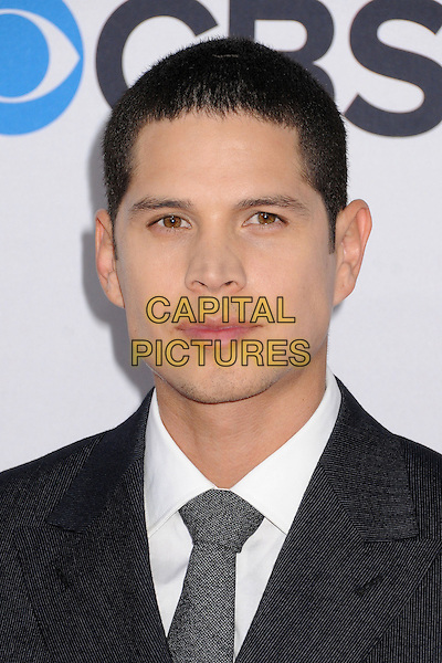 JD Pardo, J.D. Pardo.People's Choice Awards 2013 - Arrivals held at Nokia Theatre L.A. Live, Los Angeles, California, USA..January 9th, 2013.headshot portrait black white shirt grey gray tie .CAP/ADM/BP.©Byron Purvis/AdMedia/Capital Pictures.
