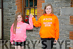 Aishling and Emma O'Donnell from Tralee. at the 55th Féile Cheoil Step dancing competitions at the Ceolann building Lixnaw on Saturday