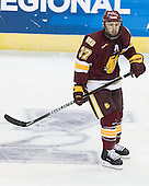 Justin Fontaine (Duluth - 37) - The University of Minnesota-Duluth Bulldogs defeated the Union College Dutchmen 2-0 in their NCAA East Regional Semi-Final on Friday, March 25, 2011, at Webster Bank Arena at Harbor Yard in Bridgeport, Connecticut.