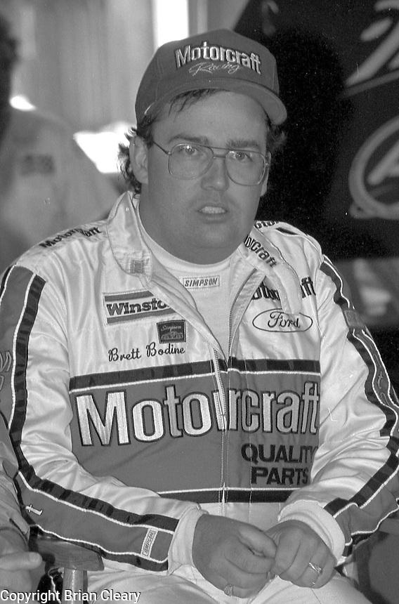 Brett Bodine Daytona 500 at Daytona International Speedway on February 19, 1989.  (Photo by Brian Cleary/www.bcpix.xom)
