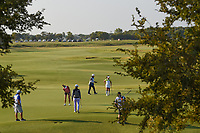 Gerina Piller (USA) putts on 1 during the round 3 of the Volunteers of America Texas Classic, the Old American Golf Club, The Colony, Texas, USA. 10/5/2019.<br /> Picture: Golffile   Ken Murray<br /> <br /> <br /> All photo usage must carry mandatory copyright credit (© Golffile   Ken Murray)