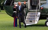 United States President Barack Obama arrives at the White House in Washington, DC on June 2, 2016.<br /> Credit: Dennis Brack / Pool via CNP