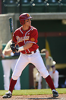 Greg Zebrack of the USC Trojans during game against the  Western Carolina Catamounts at Dedeaux Field in Los Angeles,CA.  Photo by Larry Goren/Four Seam Images