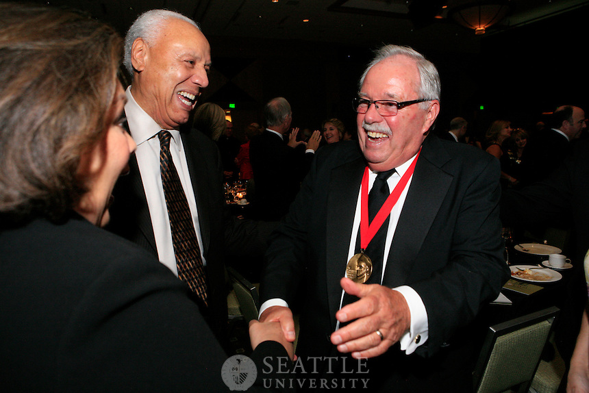10292011 - Seattle University's 28th Annual Gala, 2011 St. Ignatius Medal Recipients Jim and Janet Sinegal