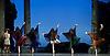 Sylvia<br /> Birmingham Royal Ballet <br /> choreography by David Bentley <br /> at the Birmingham Hippodrome, Birmingham, Great Britain<br /> rehearsal <br /> 23rd June 2015 <br /> <br /> Momoko Hirata as Sylvia<br /> <br /> <br /> artists of the Birmingham Royal Ballet <br /> <br /> <br /> <br /> Photograph by Elliott Franks <br /> Image licensed to Elliott Franks Photography Services