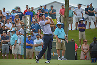 Justin Thomas (USA) watches his tee shot on 3 during round 3 of The Players Championship, TPC Sawgrass, at Ponte Vedra, Florida, USA. 5/12/2018.<br /> Picture: Golffile | Ken Murray<br /> <br /> <br /> All photo usage must carry mandatory copyright credit (&copy; Golffile | Ken Murray)
