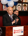 Tony DePaulo and Hal Goldberg attends The Broadway League and the Coalition of Broadway Unions and Guilds (COBUG) presents the 9th Annual Broadway Salutes at Sardi's on November , 2017 in New York City.