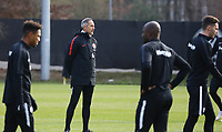 Trainer Adi Hütter (Eintracht Frankfurt) - 20.02.2019: Eintracht Frankfurt Training, UEFA Europa League, Commerzbank Arena, DISCLAIMER: DFL regulations prohibit any use of photographs as image sequences and/or quasi-video.
