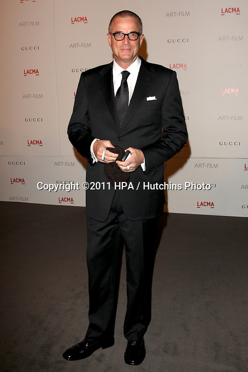 LOS ANGELES - NOV 5:  Nick Cassavetes arrives at the LACMA Art + Film Gala at LA County Museum of Art on November 5, 2011 in Los Angeles, CA