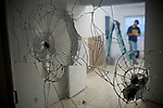 SACRAMENTO, CA - DECEMBER 2:   A vandalized mirror is one of many repairs needed in a foreclosed home in Sacramento, California December 2, 2008. Many foreclosed homes need substantial repairs before going on the market. (Photo by Max Whittaker/Getty Images)