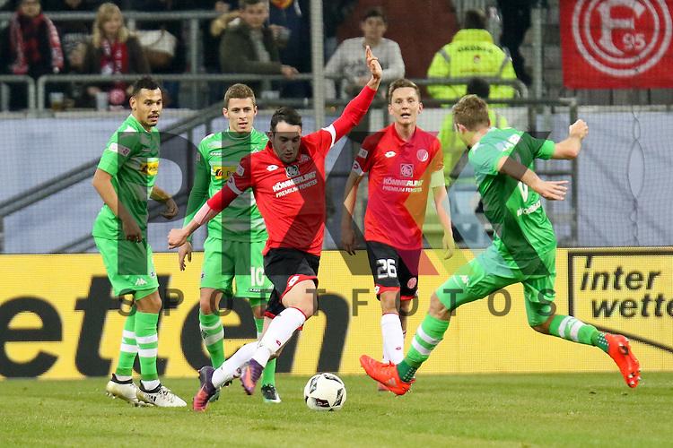 Gladbachs Christoph Kramer (Nr.6) geht in den Zweikampf um den Ball beim Telecom Cup 2017 Borussia Moenchengladbach - FSV Mainz 05.<br /> <br /> Foto &copy; PIX-Sportfotos *** Foto ist honorarpflichtig! *** Auf Anfrage in hoeherer Qualitaet/Aufloesung. Belegexemplar erbeten. Veroeffentlichung ausschliesslich fuer journalistisch-publizistische Zwecke. For editorial use only.