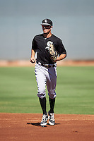 Chicago White Sox Jameson Fisher (23) during an Instructional League game against the Cincinnati Reds on October 11, 2016 at the Cincinnati Reds Player Development Complex in Goodyear, Arizona.  (Mike Janes/Four Seam Images)