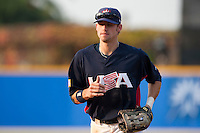 27 September 2009: Buck Coats of Team USA runs back to the dugout during the 2009 Baseball World Cup gold medal game won 10-5 by Team USA over Cuba, in Nettuno, Italy.