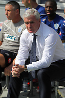 FAO SPORTS PICTURE DESK<br /> Pictured: Mark Hughes maanager for QPR. Saturday 18 August 2012<br /> Re: Barclay's Premier League, Queens Park Rangers v Swansea City FC at Loftus Road Stadium, London, UK.