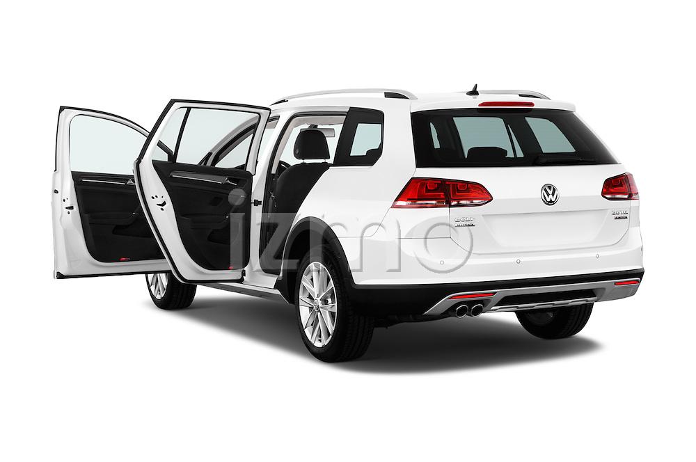 Car images of 2015 Volkswagen Golf Alltrack 5 Door Wagon Doors