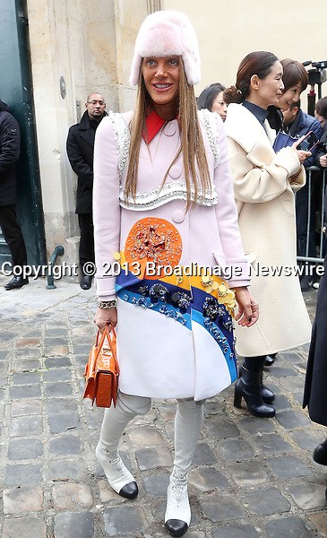 Pictured: Anna Dello Russo<br /> Mandatory Credit &copy; AFFR/Broadimage<br /> Christian Dior:  Paris Fashion Week - Haute Couture S/S 2014 - Outside Arrivals<br /> <br /> 1/20/14, Paris, , France<br /> <br /> Broadimage Newswire<br /> Los Angeles 1+  (310) 301-1027<br /> New York      1+  (646) 827-9134<br /> sales@broadimage.com<br /> http://www.broadimage.com<br /> <br /> <br /> Pictured: Anna Dello Russo<br /> Mandatory Credit &copy; AFFR/Broadimage<br /> Christian Dior:  Paris Fashion Week - Haute Couture S/S 2014 - Outside Arrivals<br /> <br /> 1/20/14, Paris, , France<br /> Reference: 012014_BDG_AFFR_DF_005<br /> <br /> Broadimage Newswire<br /> Los Angeles 1+  (310) 301-1027<br /> New York      1+  (646) 827-9134<br /> sales@broadimage.com<br /> http://www.broadimage.com