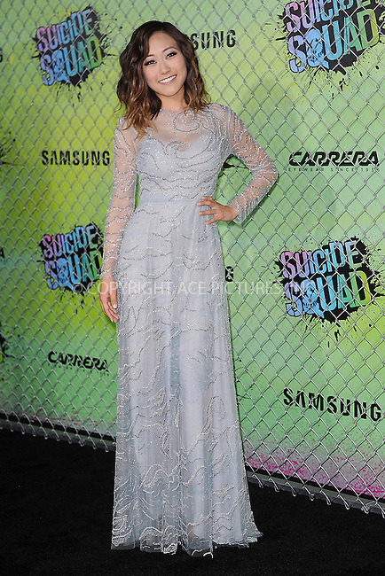 www.acepixs.com<br /> August 1, 2016  New York City<br /> <br /> Karen Fukuhara attending the world premiere of Warner Bros. Pictures and Atlas Entertainment&rsquo;s 'Suicide Squad' at the Beacon Theatre on August 1, 2016 in New York City.<br /> <br /> <br /> Credit: Kristin Callahan/ACE Pictures<br /> <br /> <br /> Tel: 646 769 0430<br /> Email: info@acepixs.com