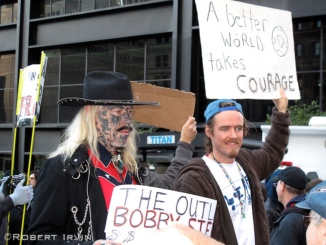 Occupy Wall St October 23, 2011 in Zuccotti Park.