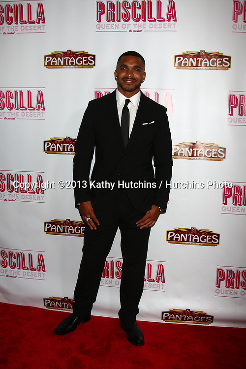 "LOS ANGELES - MAY 29:  Tyler Lepley arrives at  the ""Priscilla Queen of the Desert"" Play Opening at the Pantages Theater on May 29, 2013 in Los Angeles, CA"