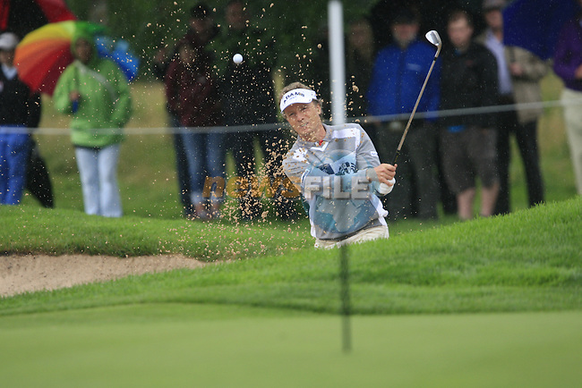 Bernhard Langer (GER) chips onto the 7th green during Day 1 of the BMW International Open at Golf Club Munchen Eichenried, Germany, 23rd June 2011 (Photo Eoin Clarke/www.golffile.ie)