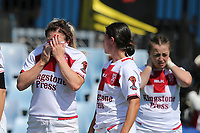 Heartbreak for England. Kiwi Ferns v England, Women's Rugby League World Cup Semi Final at Southern Cross Group Stadium, Sydney, Australia on 26 November 2017. Copyright Image: David Neilson / www.photosport.nz MANDATORY CREDIT/BYLINE : David Neilson/SWpix.com/PhotosportNZ