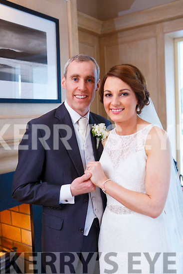 Theresa Culloty and Michael O'Sullivan were married at Our Lady of Lourdes, Scartaglen, by monsieur Don Riordan on Saturday 21st October 2017 with a reception at Ballygarry house Hotel