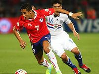 Selección Chilena 2012 Chile vs Paraguay
