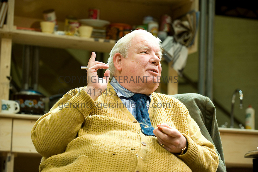 The Habit of Art by Alan Bennett,directed by Nicholas Hytner.With Richard Griffiths as Fitz[ W H Auden].Opens at The Lyttleton Theatre  at The National Theatre on  17/11/09. CREDIT Geraint Lewis
