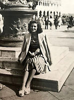 BNPS.co.uk (01202 558833)Pic:  EzraFamily/BNPS<br /> <br /> Gabriella in her native Venice just after the war.<br /> <br /> Brighton nonagenarian Gabriella Ezra(91) has finally been recognised for her wartime heroics...<br /> <br /> The extraordinary story of how a teenage girl saved an entire village from being executed by the Nazis has come to light after she finally received a gallantry award nearly 74 years later.<br /> <br /> Fearless Gabriella Ezra, 91, who lives in Brighton, Sussex, intervened to stop her father Luigi and 37 other inhabitants of a rural village in her native Italy from being massacred by a firing squad during the chaotic last days of WW2.<br /> <br /> She has now been awarded an Italian Star of Italy medal after her son Mark wrote to the Italian embassy to make them aware of her remarkable actions on the morning April 28, 1945.<br /> <br /> Gabriella, who was 17 years old at the time, chased after a German officer and pleaded with him to show mercy to the villagers of Capella di Scorze, near Venice, who had been rounded up and locked in a cowshed.<br /> <br /> The Germans were after retribution following an attack on their men by Italian partisans which had left several of them wounded.