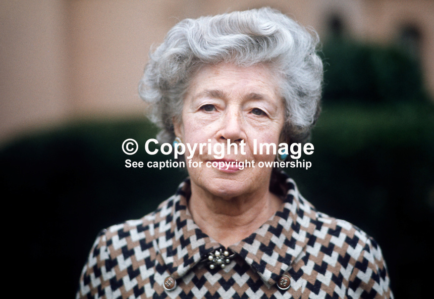 Hilda Hawnt, founder member, Belfast Consumer Group, N Ireland, December 1971. 197112000542<br />