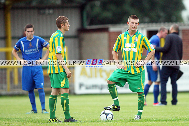 THURROCK v AVELEY<br /> PRE SEASON FRIENDLY<br /> 7TH AUGUST 2012<br /> SHIPP LANE