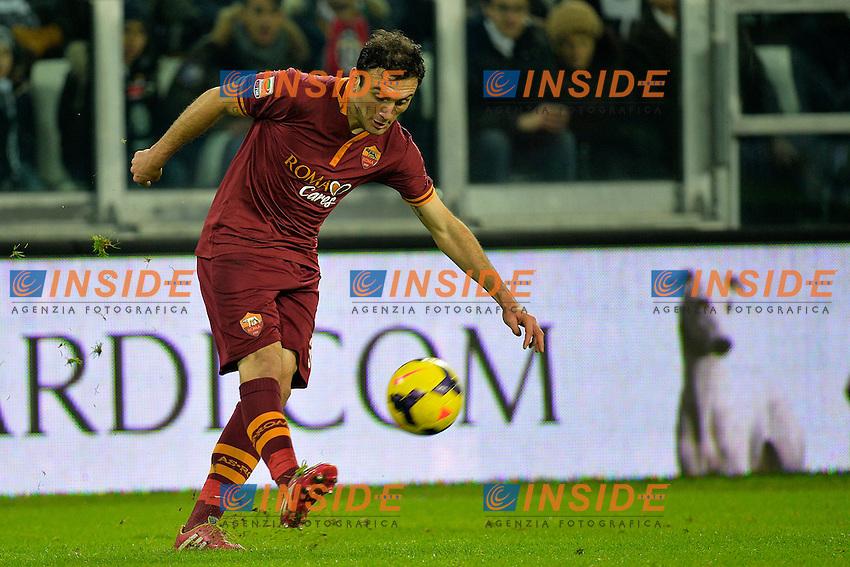 Vassili Torosidis Roma <br /> Torino 05-01-2014 Juventus Stadium - Football Calcio Serie A 2013/2014 Juventus - As Roma Foto Andrea Staccioli / Insidefoto