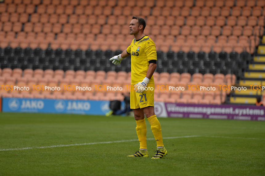 barnet keeper craig ross during Barnet vs West Ham United, Friendly Match Football at the Hive Stadium on 15th July 2017