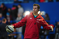 Johann van Graan Head Coach of Munster during the pre match warm up for the Guinness Pro14 Round 4 match between Cardiff Blues and Munster Rugby at the Cardiff Arms Park Stadium  in Cardiff, Wales, UK. Friday 21 September 2018