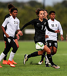Emma Main. OFC U-19 Women's Championship 2017, New Zealand v Fiji, Ngahue Reserve Auckland, Tuesday 11th July 2017. Photo: Simon Watts / www.bwmedia.co.nz