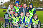 Jim Cadigan, Tralee, Jonathan Cronin, Milltown, Sean Horan, Kielduff, David Murphy Milltown, Jacob Aldiss, Tralee, Jack Walsh Tralee, David Rogers, Kielduff and Jack O'Connor, Killarney, county beavers southern province, pictured at St Marys cathedral on Sunday where they received high visibility vests from Kerry Mayor Tom Fleming..