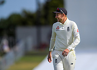 England captain Joe Root during day two of the international cricket 1st test match between NZ Black Caps and England at Bay Oval in Mount Maunganui, New Zealand on Friday, 22 November 2019. Photo: Dave Lintott / lintottphoto.co.nz