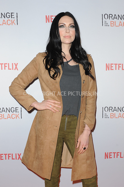 WWW.ACEPIXS.COM<br /> June 11, 2015 New York City<br /> <br /> Laura Prepon attending the 'Orangecon' Fan Event at Skylight Clarkson SQ on June 11, 2015 in New York City.<br /> <br /> Credit : Kristin Callahan/ACE Pictures<br /> Tel: (646) 769 0430<br /> e-mail: info@acepixs.com<br /> web: http://www.acepixs.com