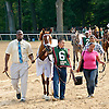 Princess of Sylmar before The Delaware Handicap (gr 1) at Delaware Park on 7/12/14